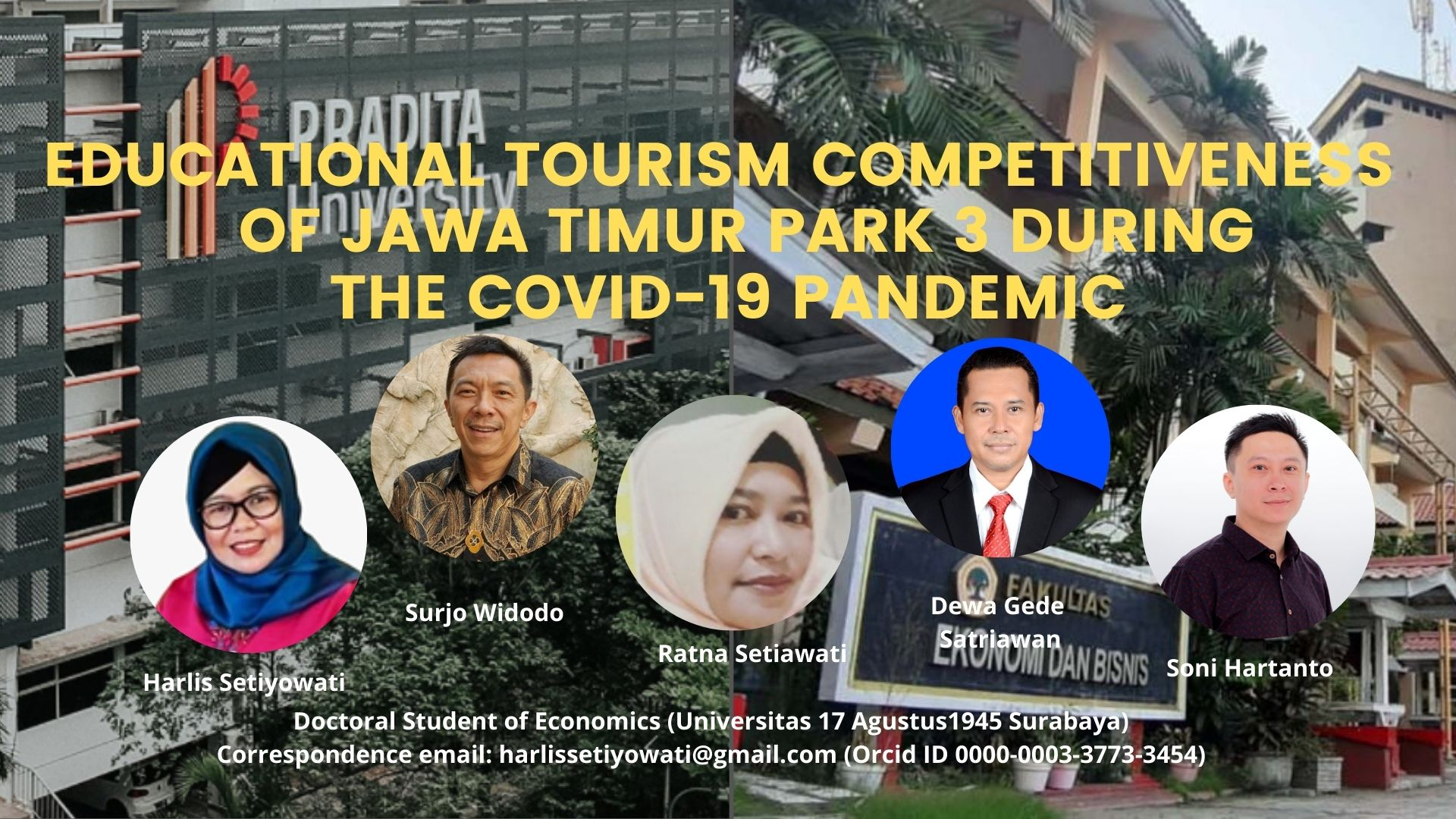 Educational Tourism Competitiveness of Jawa Timur Park 3 During the Covid-19 Pandemic